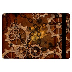 Steampunk In Rusty Metal iPad Air Flip