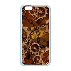 Steampunk In Rusty Metal Apple Seamless iPhone 6/6S Case (Color)