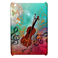 Violin With Violin Bow And Key Notes Apple iPad Mini Hardshell Case