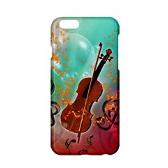 Violin With Violin Bow And Key Notes Apple iPhone 6/6S Hardshell Case