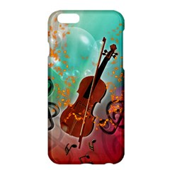 Violin With Violin Bow And Key Notes Apple iPhone 6 Plus/6S Plus Hardshell Case