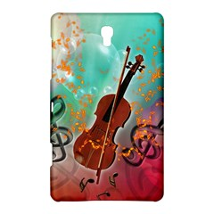 Violin With Violin Bow And Key Notes Samsung Galaxy Tab S (8.4 ) Hardshell Case