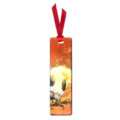 Soccer With Fire And Flame And Floral Elelements Small Book Marks