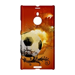 Soccer With Fire And Flame And Floral Elelements Nokia Lumia 1520