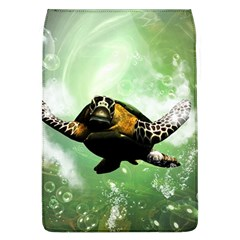 Beautiful Seaturtle With Bubbles Flap Covers (L)