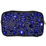 Sci Fi Fantasy Cosmos Blue Toiletries Bags 2-Side Front