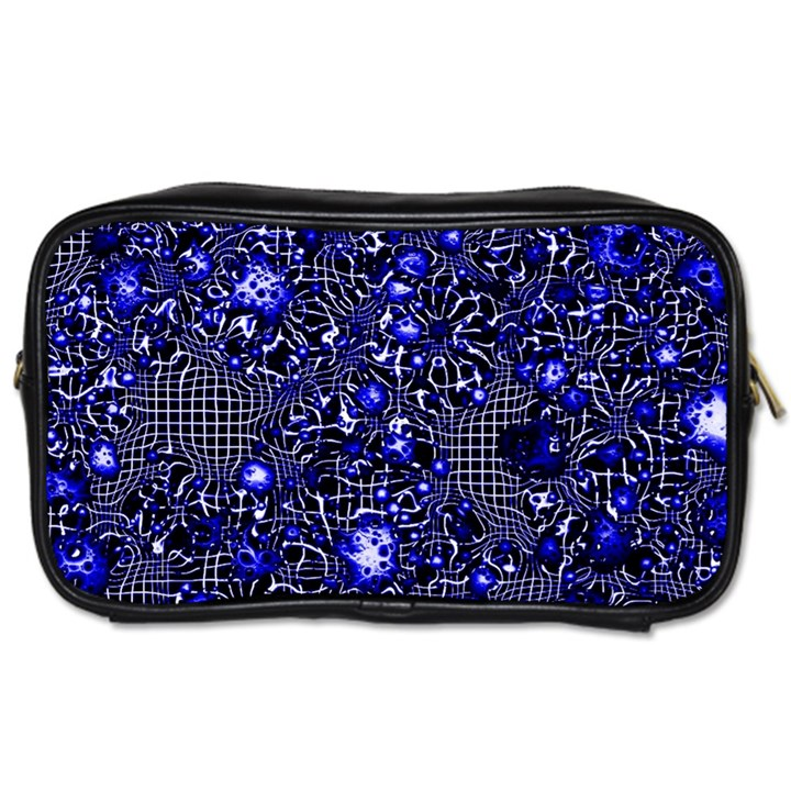 Sci Fi Fantasy Cosmos Blue Toiletries Bags 2-Side