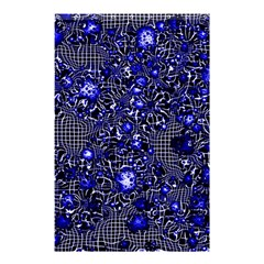 Sci Fi Fantasy Cosmos Blue Shower Curtain 48  x 72  (Small)