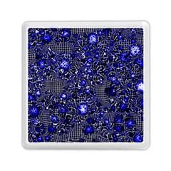 Sci Fi Fantasy Cosmos Blue Memory Card Reader (Square)