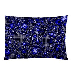 Sci Fi Fantasy Cosmos Blue Pillow Cases (Two Sides)