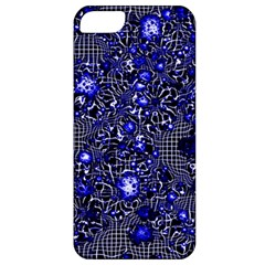 Sci Fi Fantasy Cosmos Blue Apple iPhone 5 Classic Hardshell Case