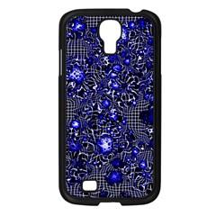 Sci Fi Fantasy Cosmos Blue Samsung Galaxy S4 I9500/ I9505 Case (Black)