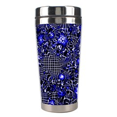 Sci Fi Fantasy Cosmos Blue Stainless Steel Travel Tumblers