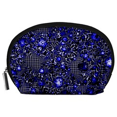 Sci Fi Fantasy Cosmos Blue Accessory Pouches (Large)