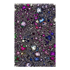 Sci Fi Fantasy Cosmos Pink Shower Curtain 48  x 72  (Small)