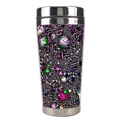 Sci Fi Fantasy Cosmos Pink Stainless Steel Travel Tumblers