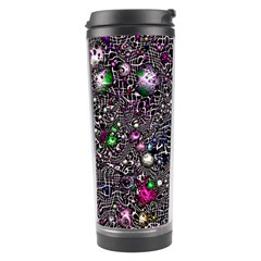 Sci Fi Fantasy Cosmos Pink Travel Tumblers