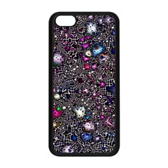Sci Fi Fantasy Cosmos Pink Apple iPhone 5C Seamless Case (Black)