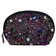 Sci Fi Fantasy Cosmos Pink Accessory Pouches (Large)