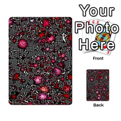 Sci Fi Fantasy Cosmos Red  Multi-purpose Cards (Rectangle)