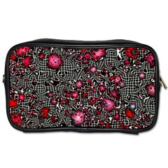 Sci Fi Fantasy Cosmos Red  Toiletries Bags 2 Side