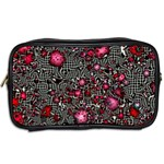 Sci Fi Fantasy Cosmos Red  Toiletries Bags 2-Side Back