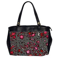 Sci Fi Fantasy Cosmos Red  Office Handbags (2 Sides)