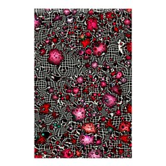 Sci Fi Fantasy Cosmos Red  Shower Curtain 48  X 72  (small)