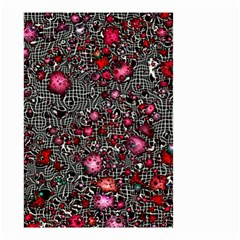 Sci Fi Fantasy Cosmos Red  Small Garden Flag (Two Sides)