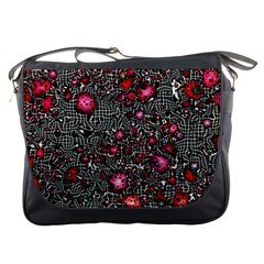 Sci Fi Fantasy Cosmos Red  Messenger Bags