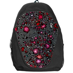 Sci Fi Fantasy Cosmos Red  Backpack Bag