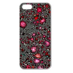 Sci Fi Fantasy Cosmos Red  Apple Seamless iPhone 5 Case (Clear)