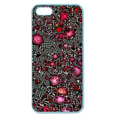 Sci Fi Fantasy Cosmos Red  Apple Seamless iPhone 5 Case (Color)