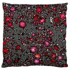 Sci Fi Fantasy Cosmos Red  Large Flano Cushion Cases (Two Sides)