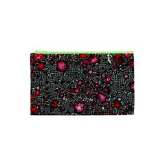 Sci Fi Fantasy Cosmos Red  Cosmetic Bag (XS)