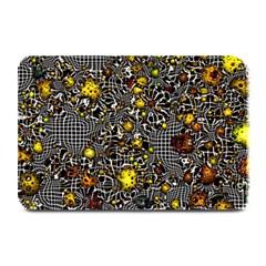 Sci Fi Fantasy Cosmos Yellow Plate Mats