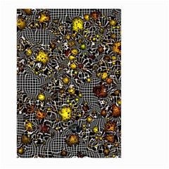 Sci Fi Fantasy Cosmos Yellow Large Garden Flag (Two Sides)