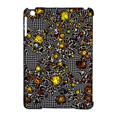Sci Fi Fantasy Cosmos Yellow Apple iPad Mini Hardshell Case (Compatible with Smart Cover)