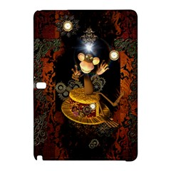 Steampunk, Funny Monkey With Clocks And Gears Samsung Galaxy Tab Pro 10.1 Hardshell Case