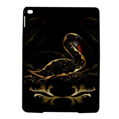 Wonderful Swan In Gold And Black With Floral Elements iPad Air 2 Hardshell Cases