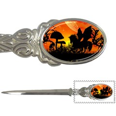 Beautiful Unicorn Silhouette In The Sunset Letter Openers