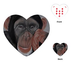 The Thinker Playing Cards (Heart)