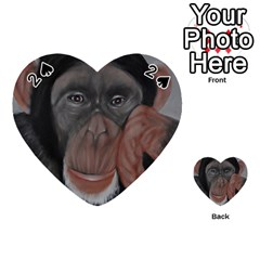 The Thinker Playing Cards 54 (Heart)