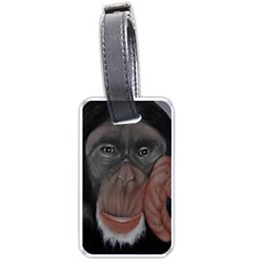 The Thinker Luggage Tags (Two Sides)