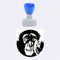 The Thinker Rubber Round Stamps (Medium)
