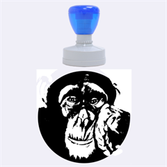 The Thinker Rubber Round Stamps (large)