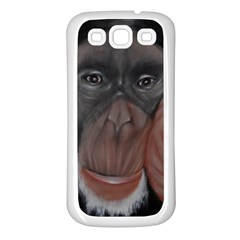 The Thinker Samsung Galaxy S3 Back Case (White)