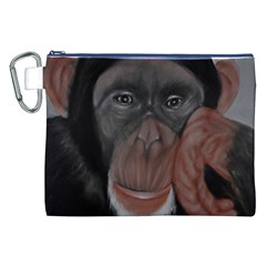 The Thinker Canvas Cosmetic Bag (XXL)