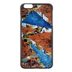 Triangles Apple iPhone 6 Plus/6S Plus Black Enamel Case