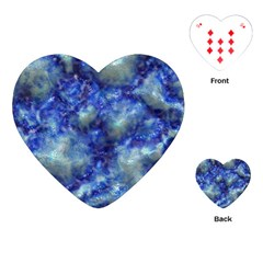 Alien DNA Blue Playing Cards (Heart)